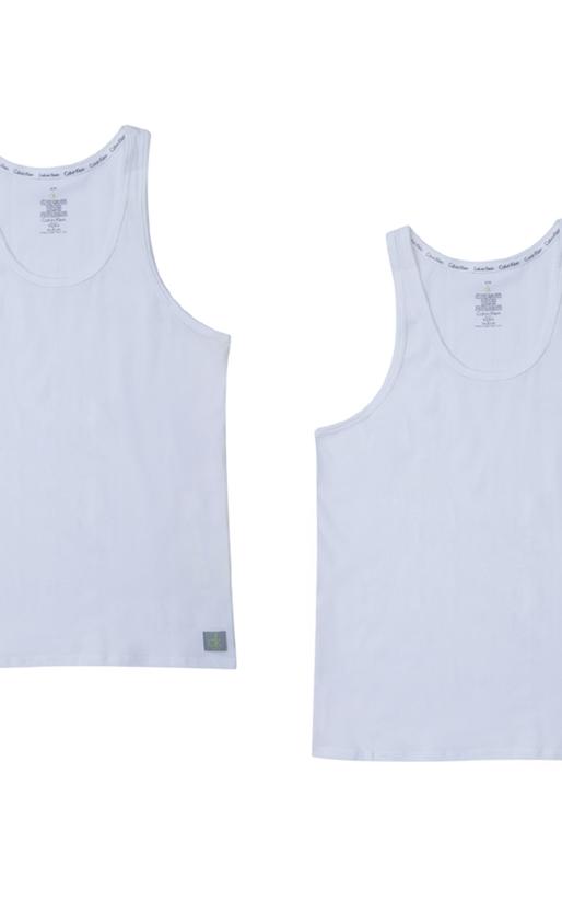 CK UNDERWEAR-Σετ φανέλες Calvin Klein λευκές