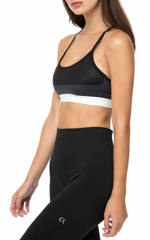 CK PERFORMANCE-Γυναικείο αθλητικό μπουστάκι ADJUSTABLE SB PRINT μαύρο 05d7f3791d8