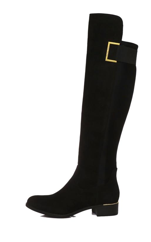 CALVIN KLEIN JEANS-Γυναικείες μπότες CYLAN CALVIN KLEIN JEANS μαύρες 2a6e439dc7f