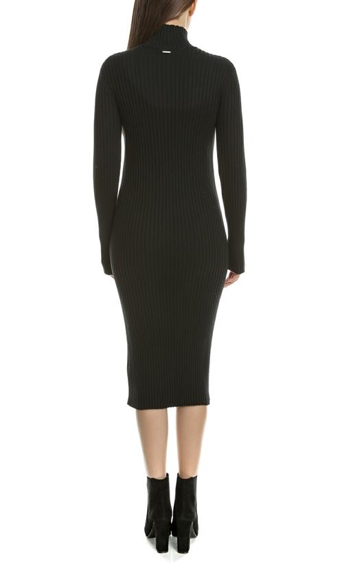 CALVIN KLEIN JEANS-Γυναικείο φόρεμα SIA CALVIN KLEIN JEANS μαύρο