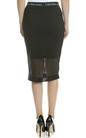 CALVIN KLEIN JEANS-Γυναικεία φούστα KALLIE CALVIN KLEIN JEANS μαύρη