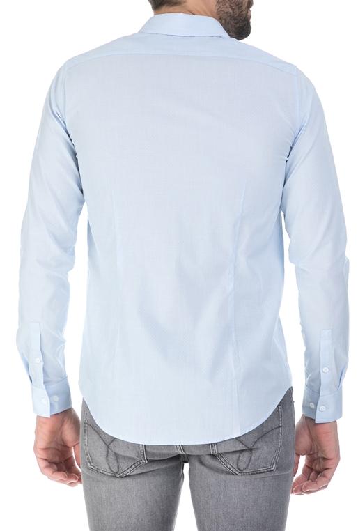 74a509eee6 CALVIN KLEIN JEANS-Ανδρικό πουκάμισο Calvin Klein Jeans γαλάζιο