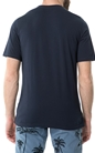 CONVERSE-Ανδρική κοντομάνικη μπλούζα CONVERSE μπλε