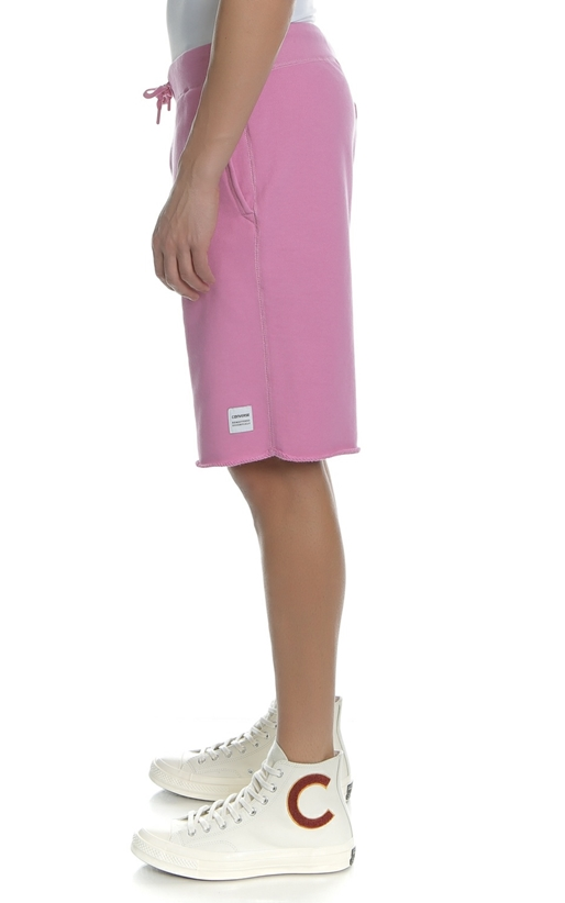 CONVERSE-Ανδρική βερμούδα CONVERSE ESSENTIALS ροζ
