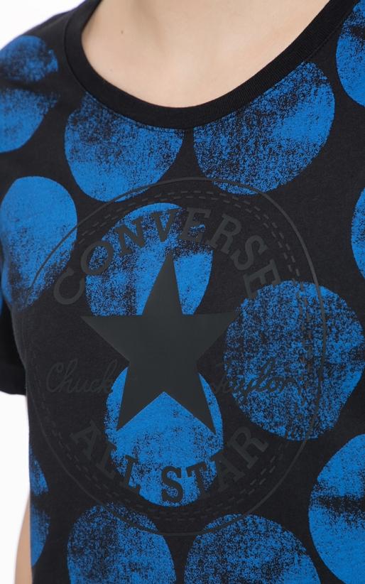 CONVERSE-Γυναικεία μπλούζα Converse μπλε