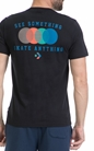 CONVERSE-Αντρική μπλούζα CONVERSE μαύρη