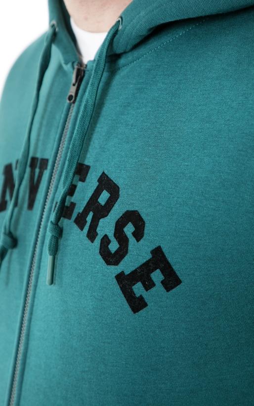CONVERSE-Ανδρική φούτερ ζακέτα CONVERSE μπλε