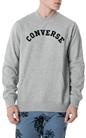 CONVERSE-Ανδρική φούτερ μπλούζα CONVERSE γκρι