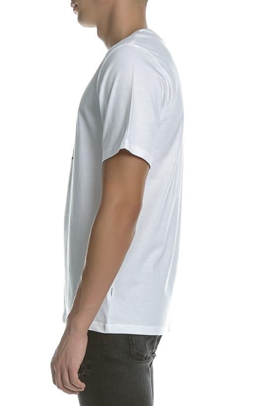 CONVERSE-Ανδρική μπλούζα Converse λευκή