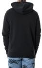 CONVERSE-Ανδρική φούτερ μπλούζα CONVERSE μαύρη