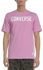 CONVERSE-Ανδρική κοντομάνικη μπλούζα CONVERSE ροζ