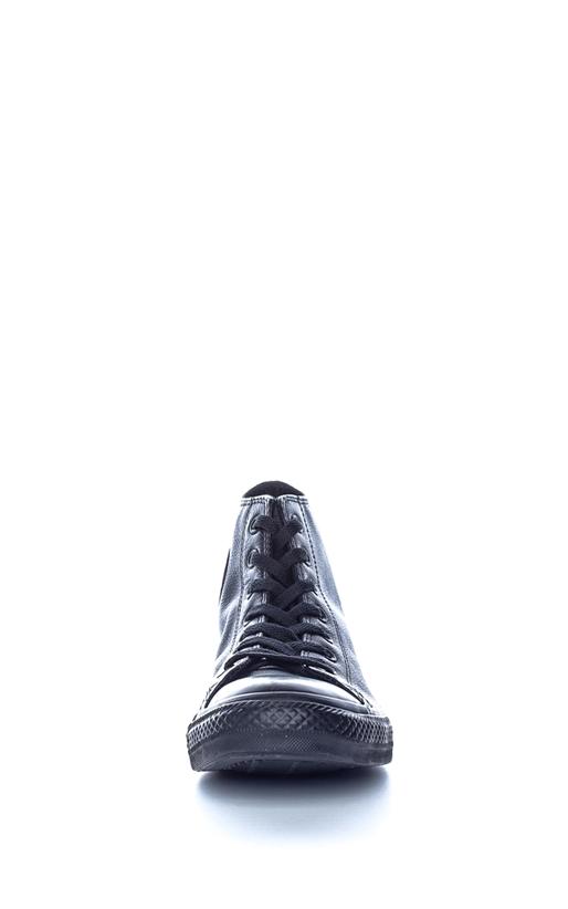 CONVERSE-Unisex μποτάκια Chuck Taylor All Star Leather CONVERSE μαύρα