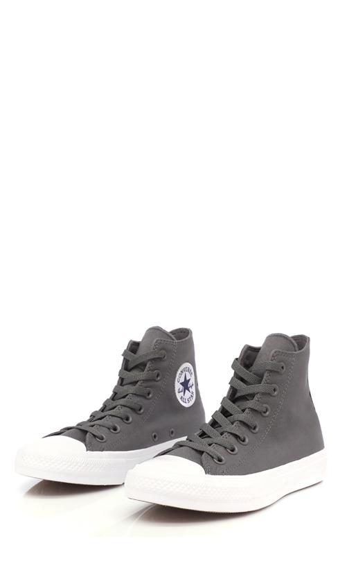 CONVERSE-Unisex παπούτσια Chuck Taylor All Star II Hi γκρι