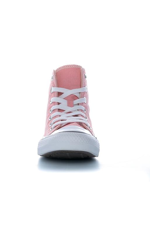 CONVERSE-Unisex μποτάκια Chuck Taylor All Star Leather CONVERSE ροζ