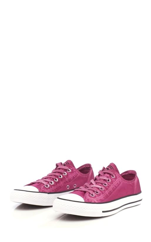 CONVERSE-Unisex παπούτσια Chuck Taylor All Star Ox φούξια-μωβ