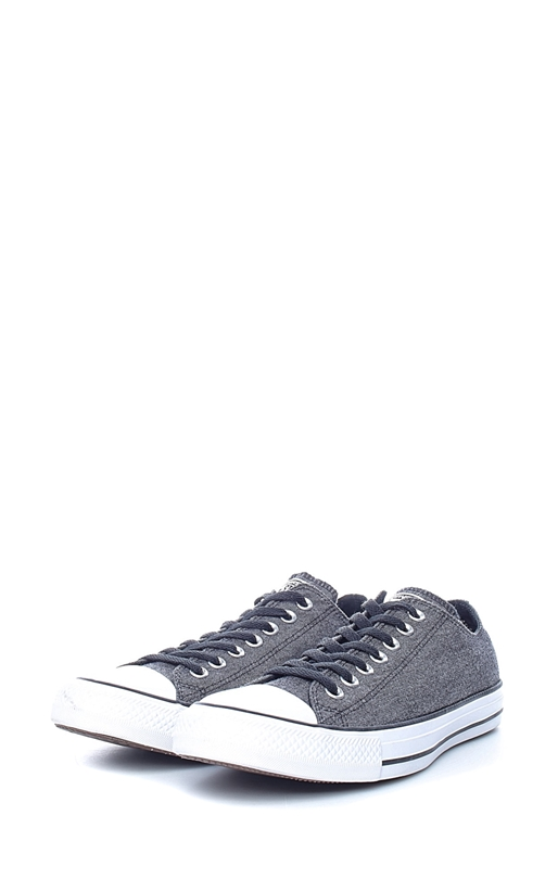 CONVERSE-Unisex sneakers Chuck Taylor All Star Ox γκρι-μαύρα