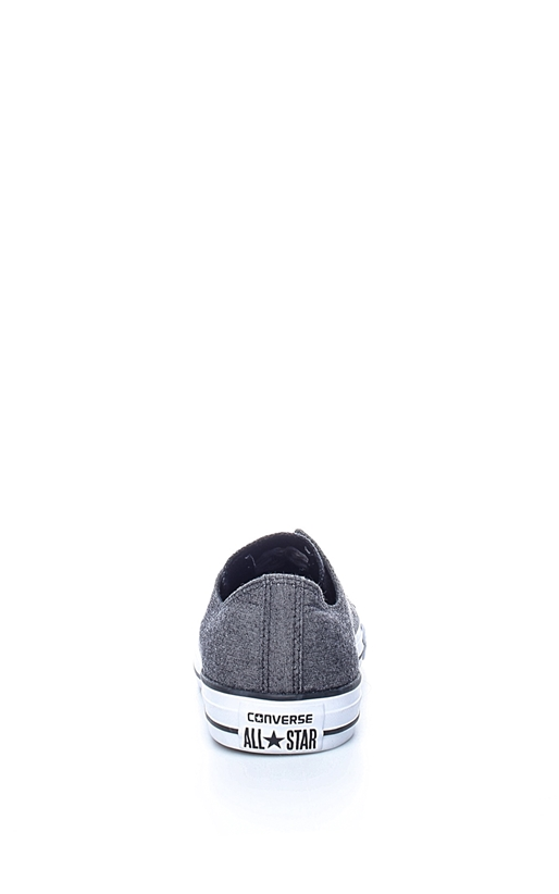 Unisex sneakers Chuck Taylor All Star Ox γκρι-μαύρα - CONVERSE ... c4135daf696
