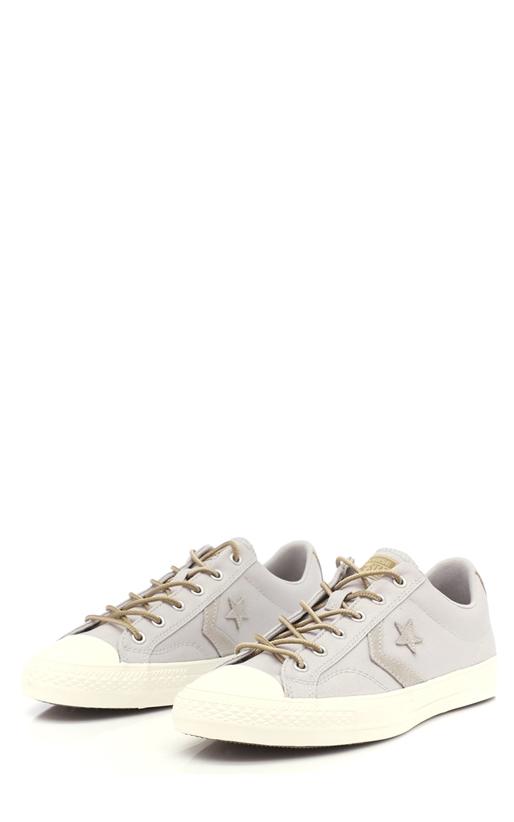 CONVERSE-Unisex παπούτσια Star Player Ox γκρι-γαλάζια