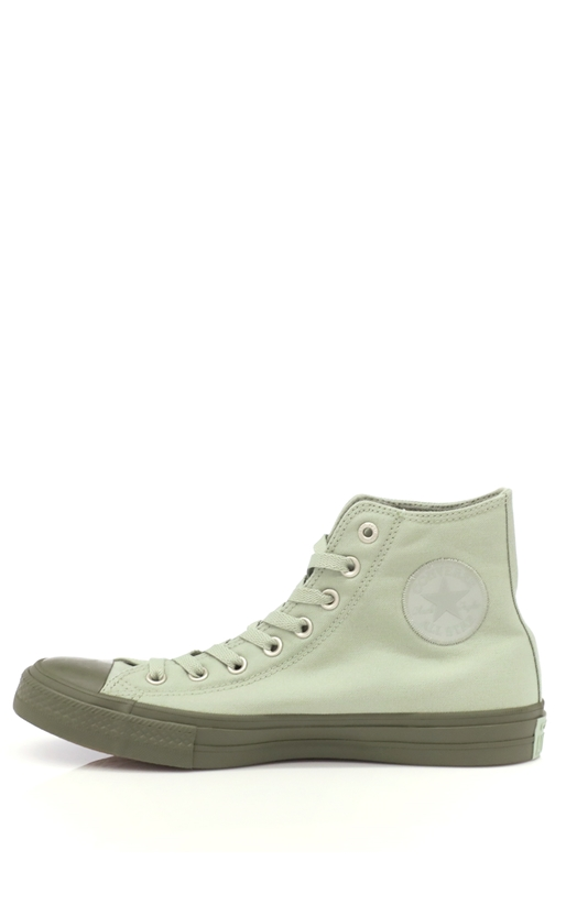 CONVERSE-Unisex παπούτσια Chuck Taylor All Star Hi πράσινα
