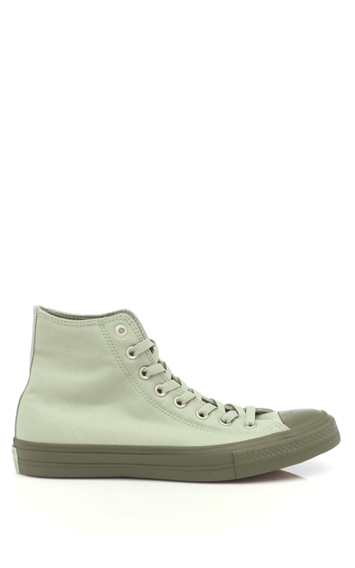 CONVERSE-Unisex παπούτσια Chuck Taylor All Star Hi πράσινα