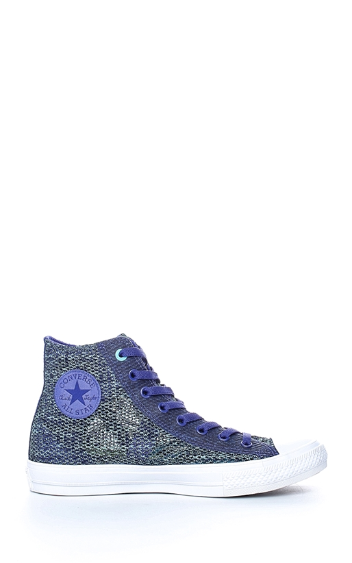 CONVERSE-Unisex Chuck Taylor All Star II Hi μπλε-μωβ