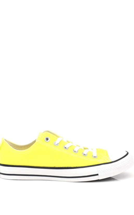 CONVERSE-Unisex παπούτσια Chuck Taylor All Star Ox κίτρινα