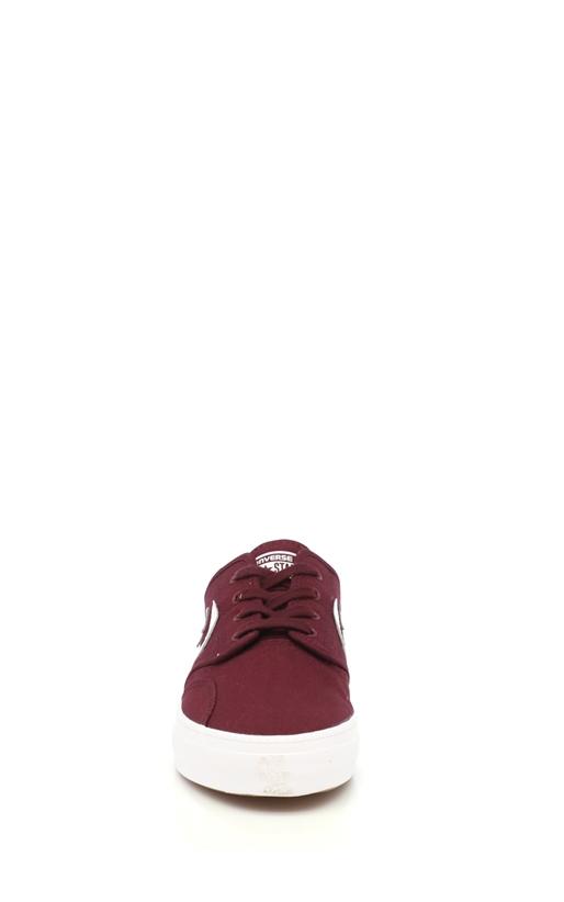 CONVERSE-Unisex παπούτσια Cons Zakim Ox μπορντώ