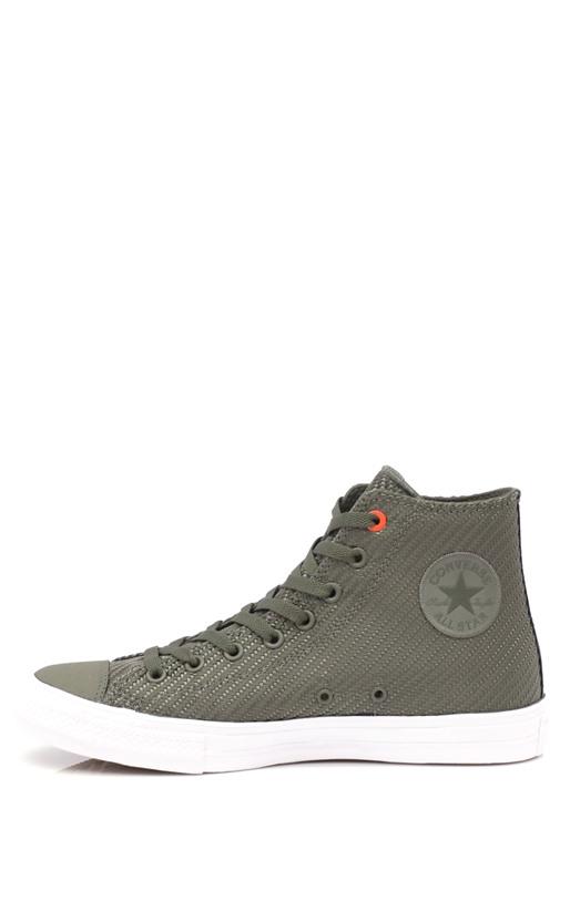 CONVERSE-Unisex παπούτσια Chuck Taylor All Star Hi χακί