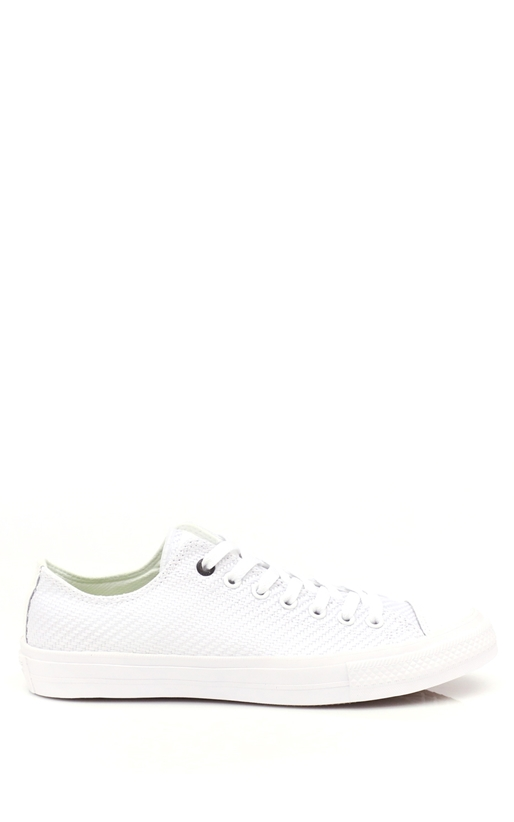 CONVERSE-Unisex Chuck Taylor All Star II Ox λευκά