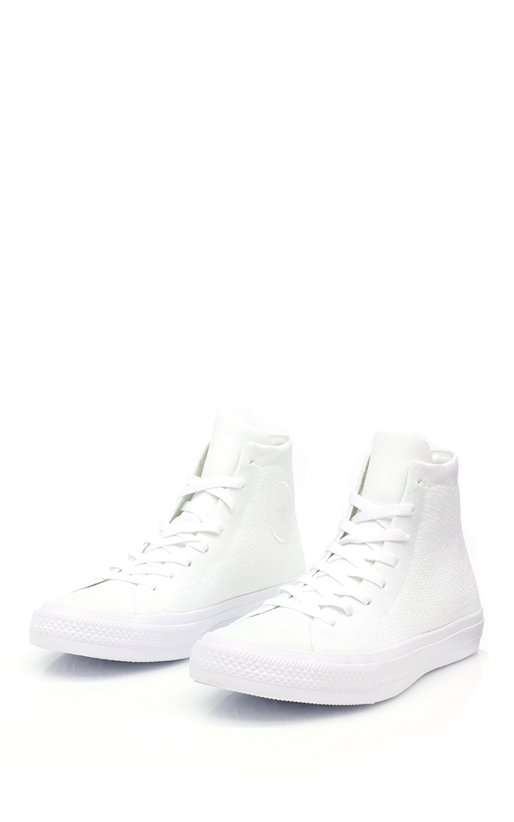 CONVERSE-Unisex παπούτσια Chuck Taylor All Star NIKE FLYKNIT HI λευκά