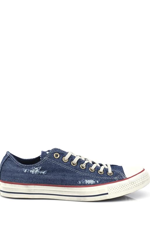 CONVERSE-Unisex παπούτσια CT AS Denim Destroyed μπλε
