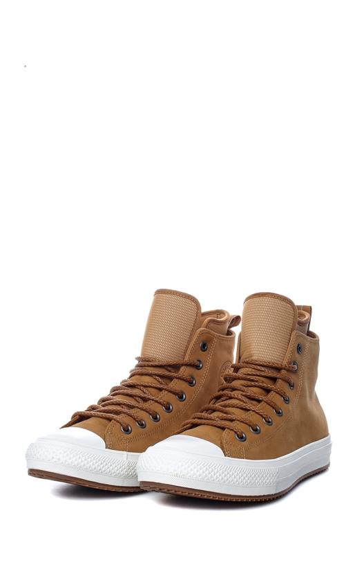 CONVERSE-Unisex παπούτσια Chuck Taylor WP Boot Hi καφέ