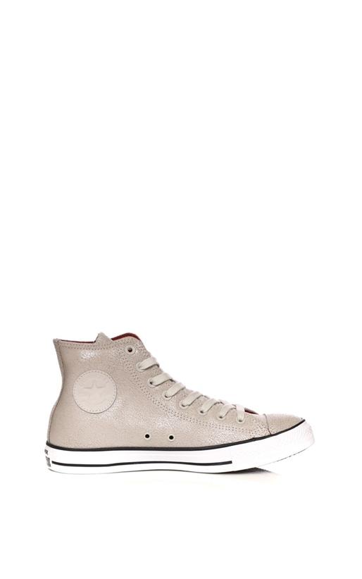 CONVERSE-Unisex παπούτσια CONVERSE Chuck Taylor All Star Hi μπεζ