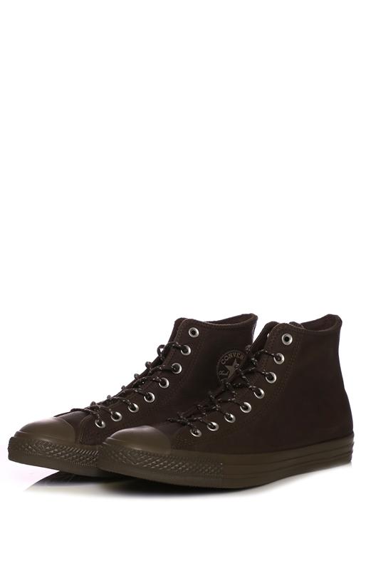 CONVERSE-Unisex παπούτσια CONVERSE Chuck Taylor All Star Hi καφέ