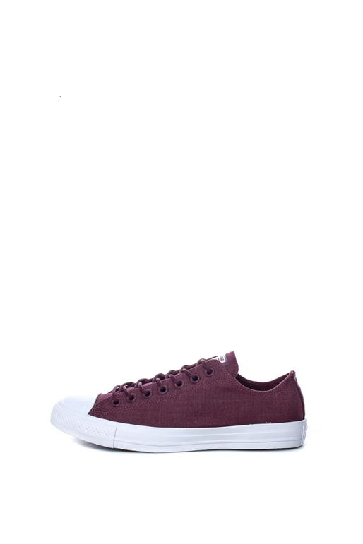 CONVERSE-Unisex παπούτσια Chuck Taylor All Star Ox μπορντώ-μωβ