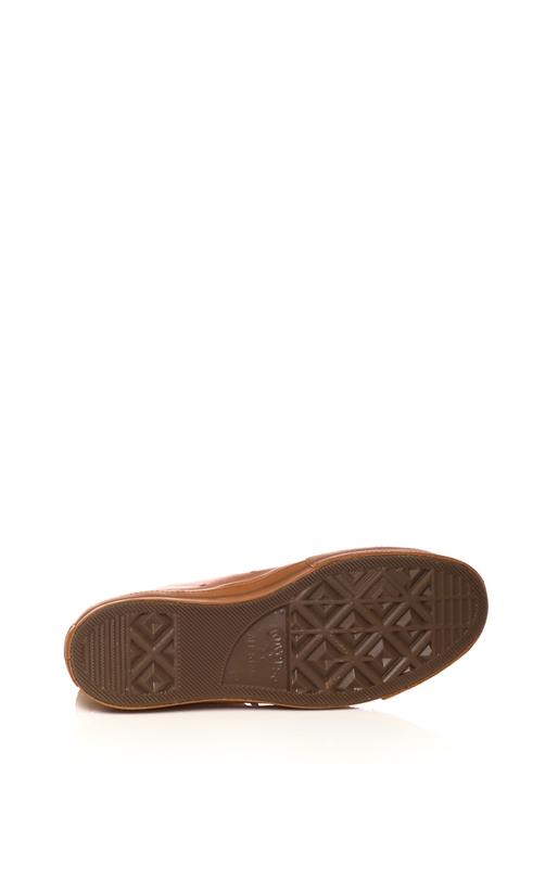 CONVERSE-Unisex παπούτσια CONVERSE QS CTAS '70 BRUTALIST HI καφέ