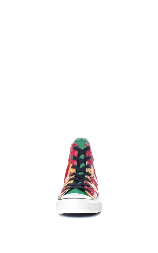 CONVERSE-Unisex παπούτσια Chuck Taylor All Star Hi κόκκινα-πράσινα
