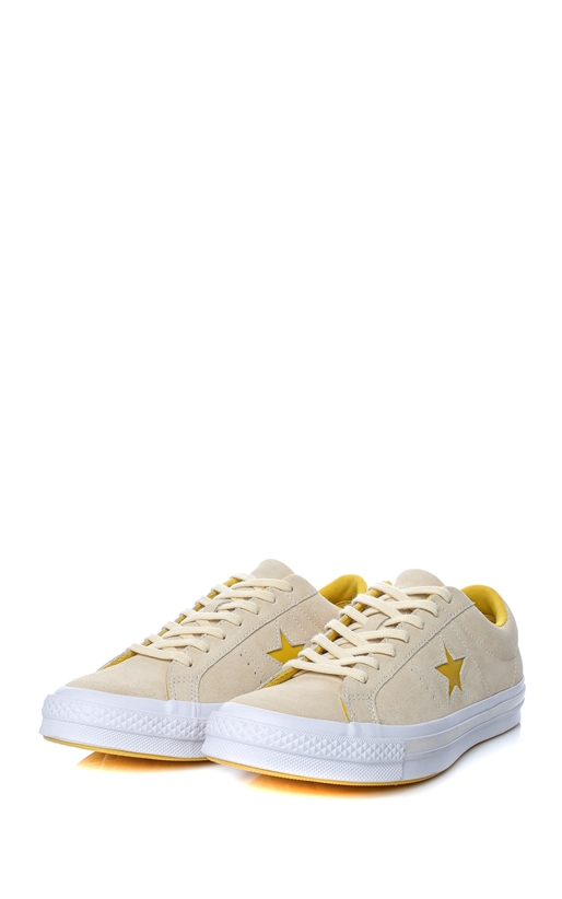 CONVERSE-Unisex παπούτσια One Star Ox μπεζ
