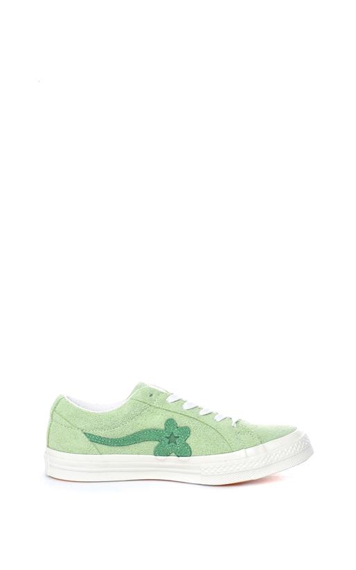 CONVERSE-Γυναικεία παπούτσια CONVERSE QS One Star Golf Le Fleur πράσινα