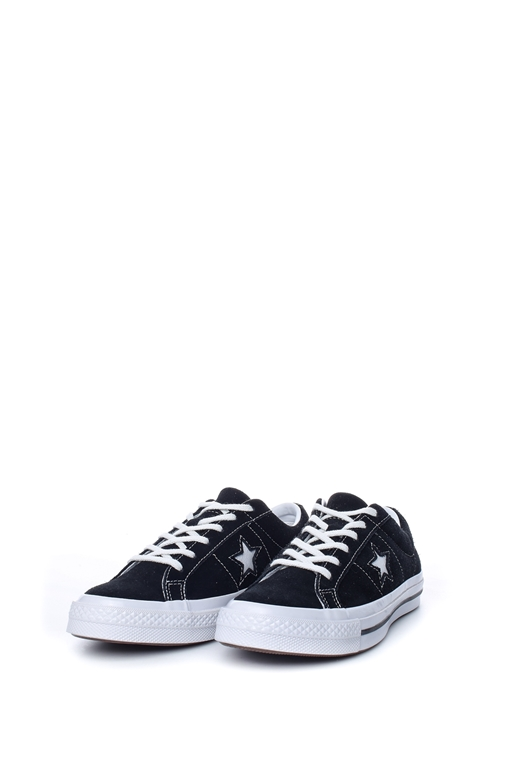 CONVERSE-Παιδικά sneakers CONVERSE ONE STAR μαύρα