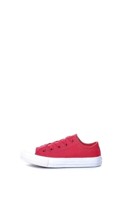 CONVERSE-Unisex παιδικά παπούτσια Chuck Taylor All Star II Ox CONVERSE κόκκινα