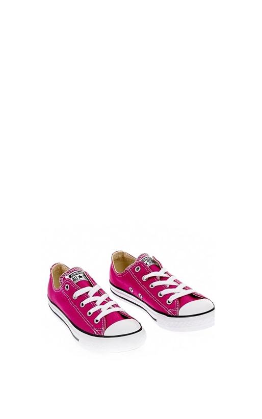 Παιδικά παπούτσια Chuck Taylor All Star Ox φούξια - CONVERSE ... 36e6fcce281