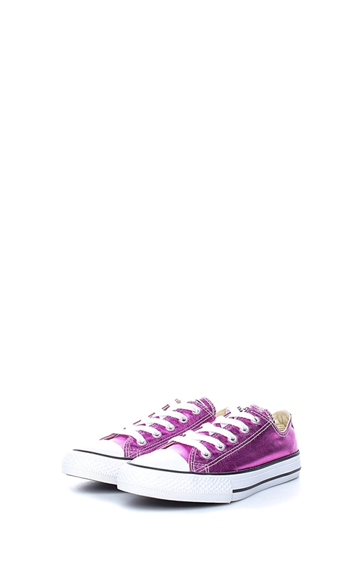 CONVERSE-Παιδικά sneakers Chuck Taylor All Star Ox μωβ-ροζ