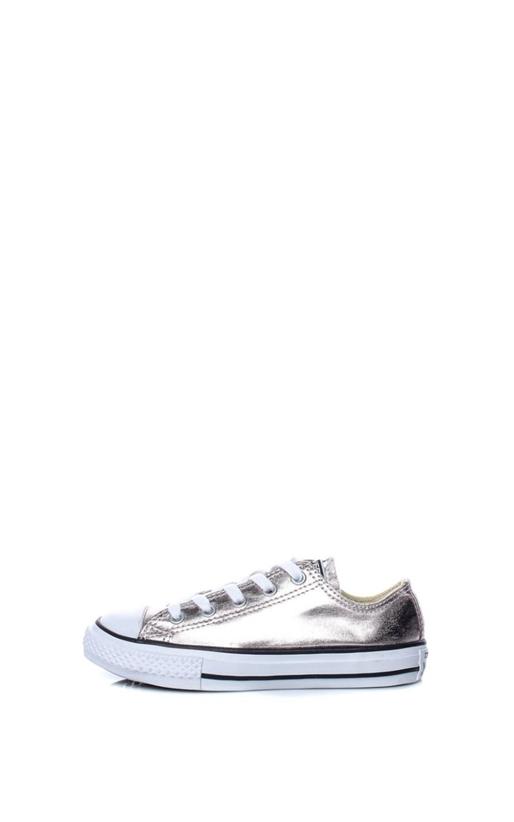 CONVERSE-Παιδικά παπούτσια Chuck Taylor All Star Ox ασημί
