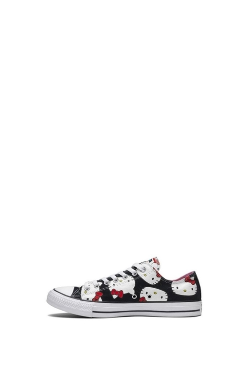 CONVERSE-Παιδικά sneakers Converse x Hello Kitty Chuck Taylor All Star μαύρα
