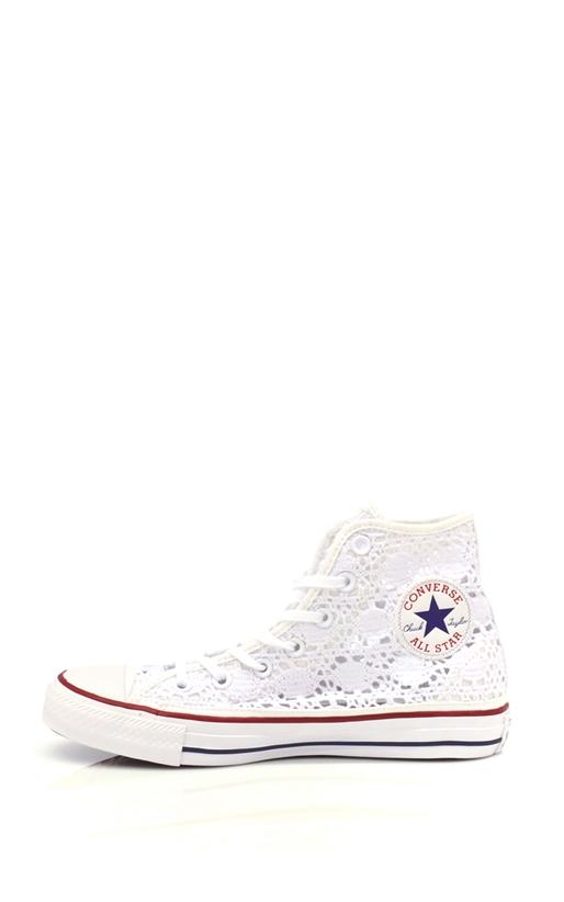 CONVERSE-Γυναικεία παπούτσια Chuck Taylor AS Core HI λευκά