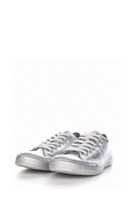 CONVERSE-Αδιάβροχα sneakers Chuck Taylor All Star Metallic ασημί
