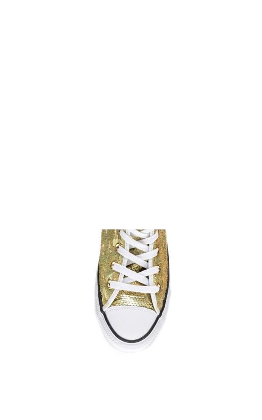 CONVERSE-Γυναικεία μποτάκια Chuck Taylor All Star Hi χρυσά