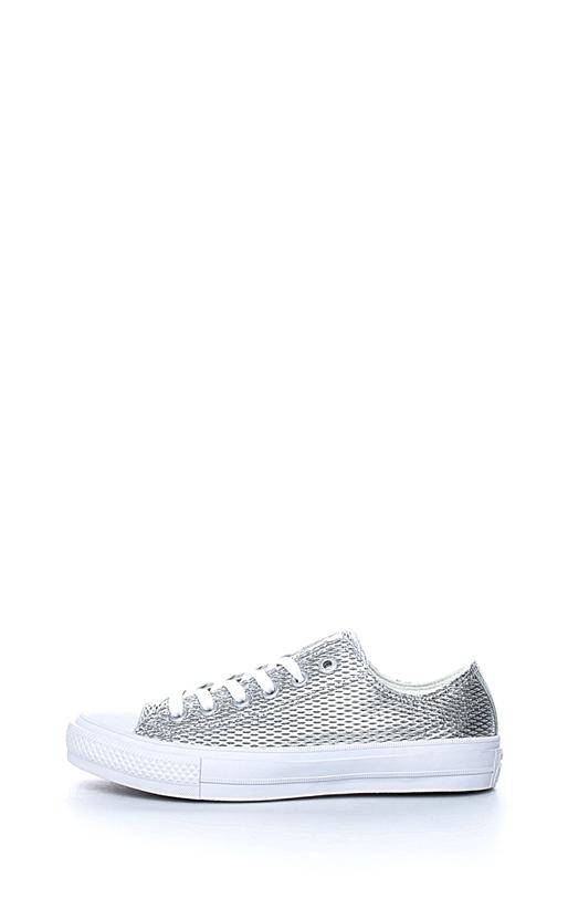 CONVERSE-Γυναικεία sneakers Chuck Taylor All Star II Ox ασημί απόχρωση