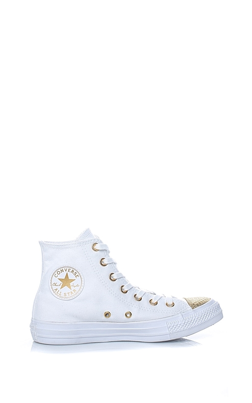 CONVERSE-Γυναικεία Chuck Taylor All Star Hi λευκά